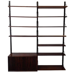 Rosewood Royal System Wall Unit by Poul Cadovius - 1960s