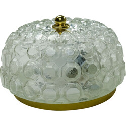 Wall lamp Limburg made in bubble glass - 1960