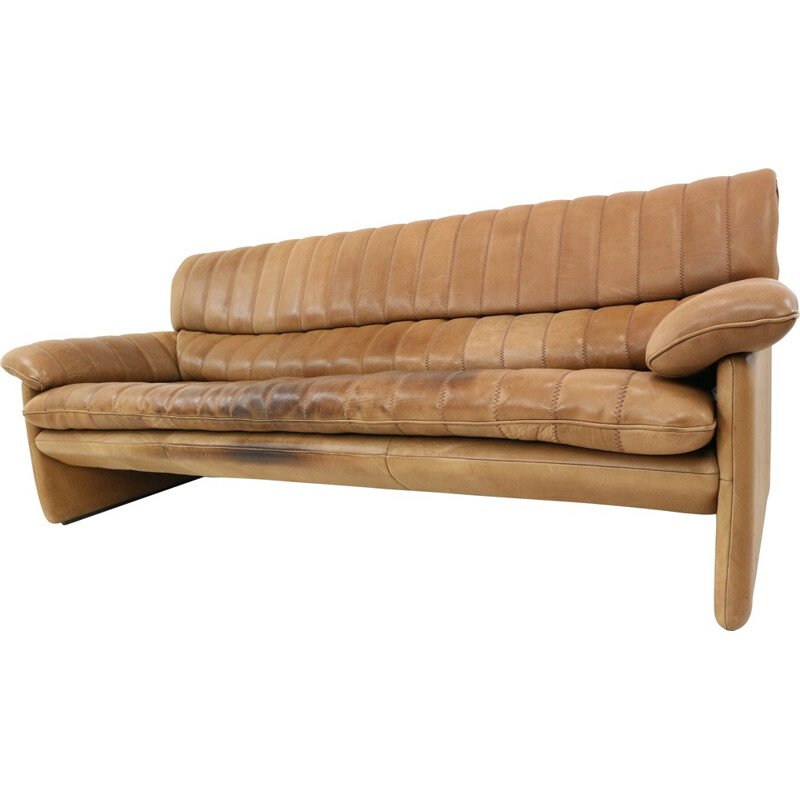 DS-85 Leather 2-Seater Sofa from de Sede - 1970s