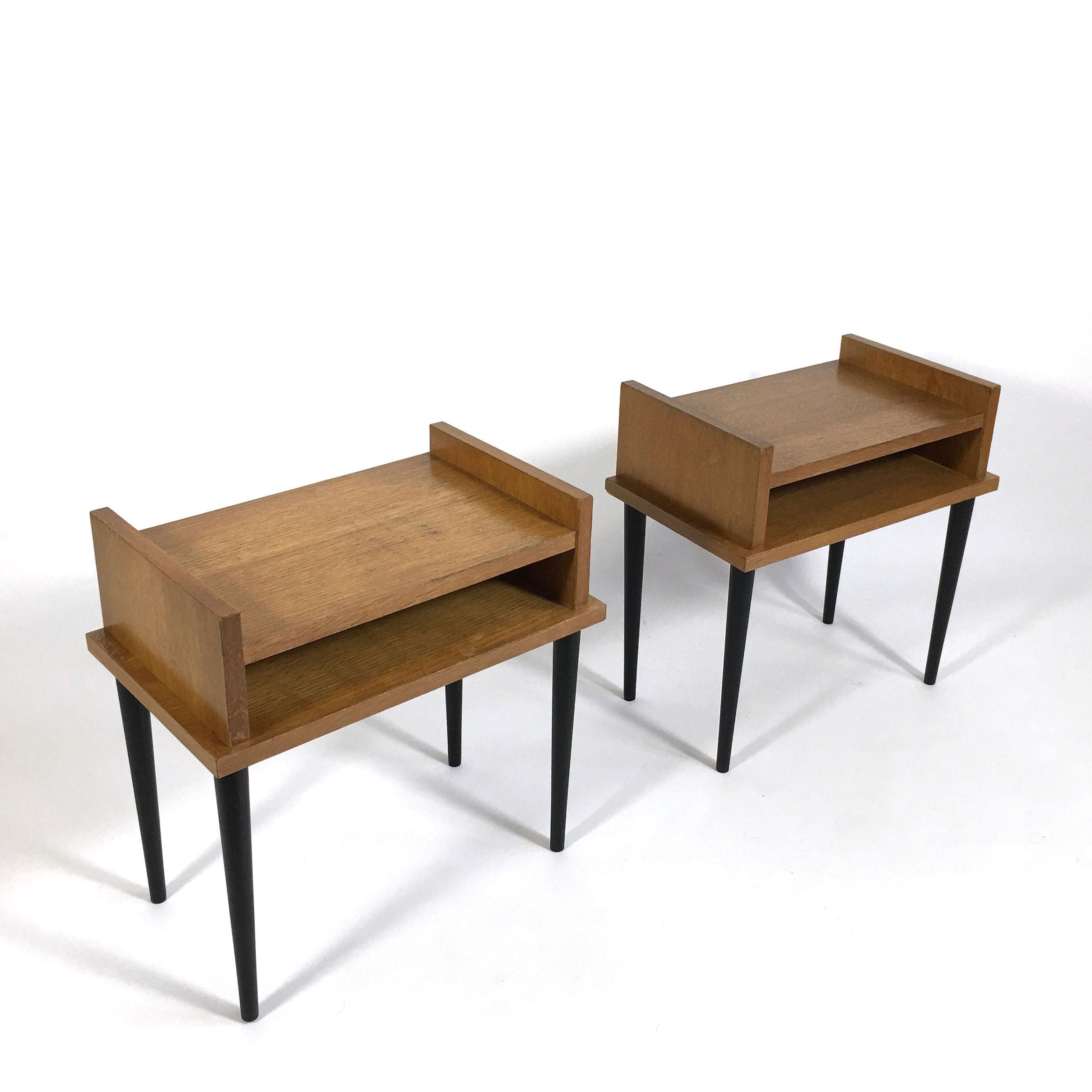 Pair of vintage bedside tables - 1960s - Design Market