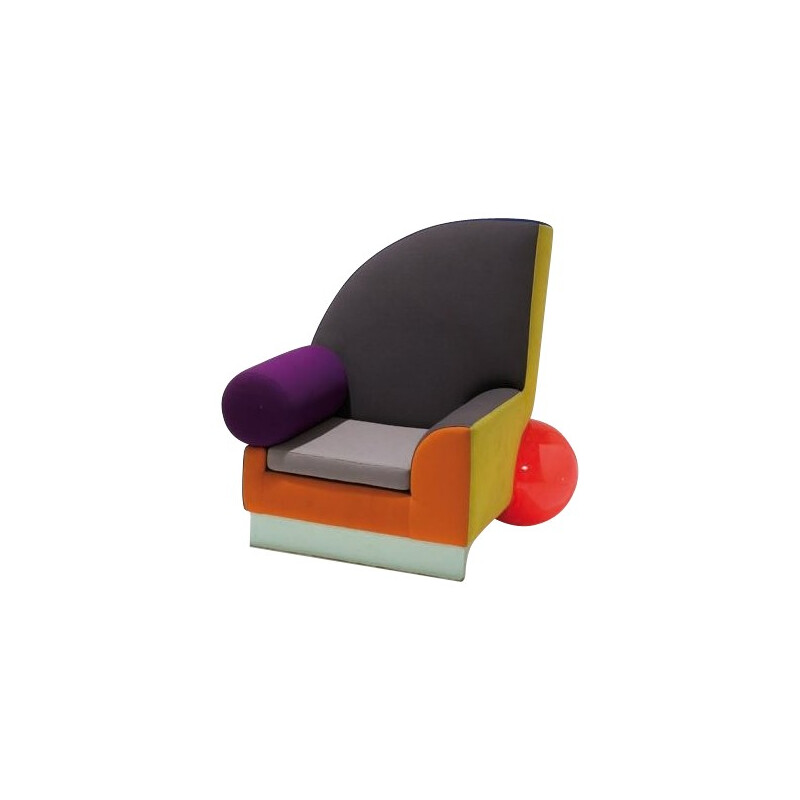 "Armchair ""Bel Air"", Peter SHIRE - 1980s"