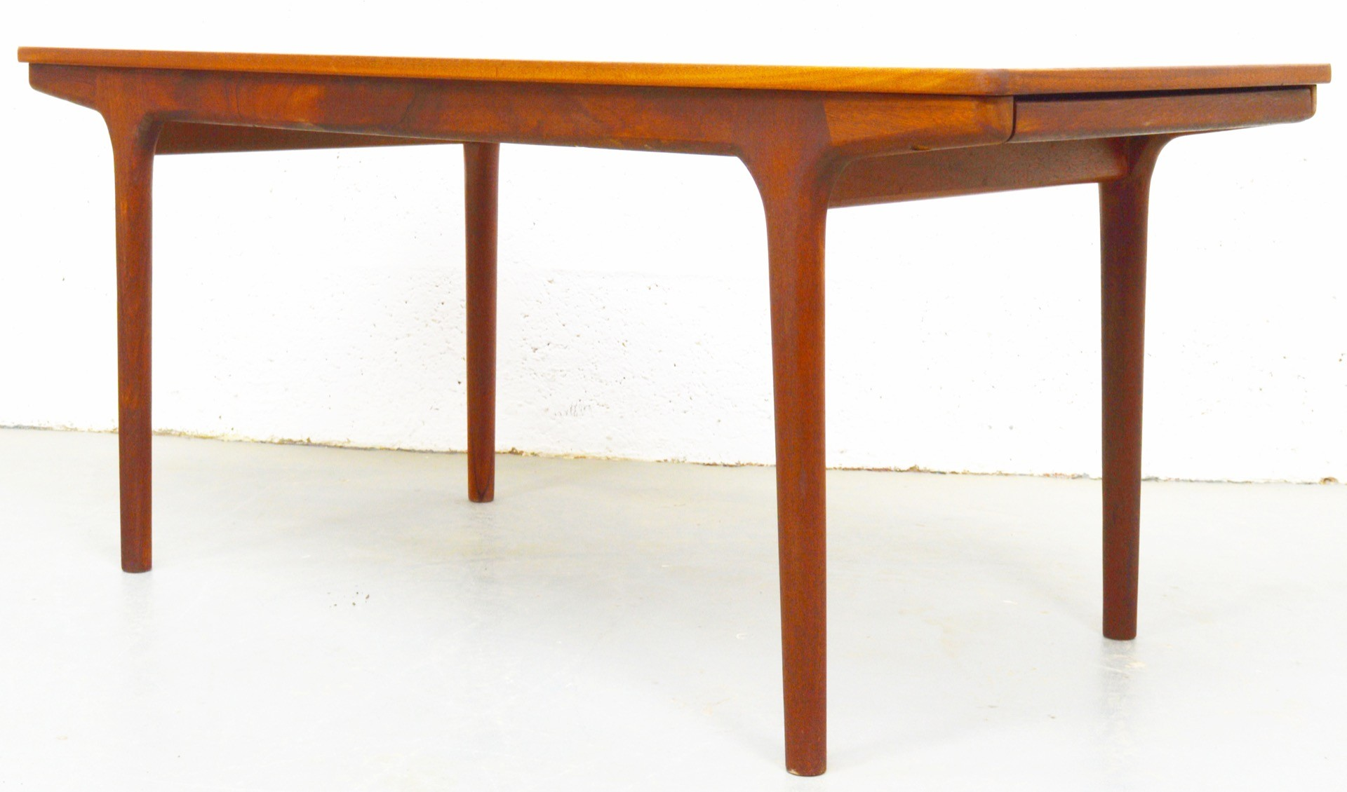 Mid Century Teak and Melamine Extendable Coffee Table by McIntosh