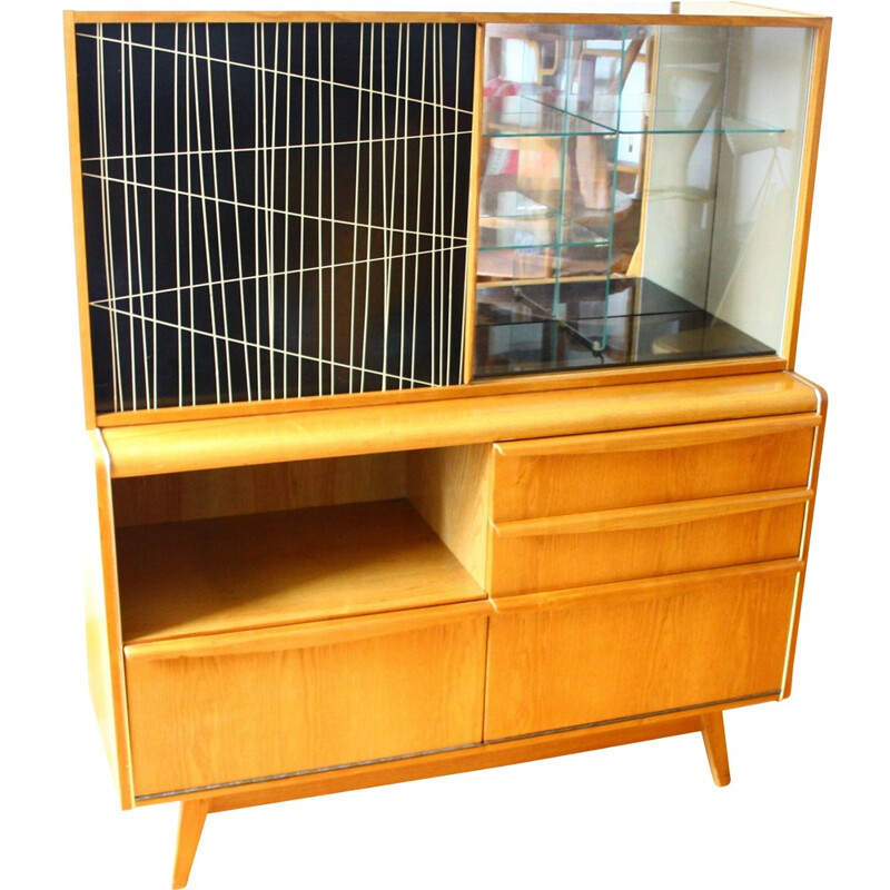 Sideboard model U-372386 designed by H. Nepožitek and B. Landsman and produced by Jitona - 1960s