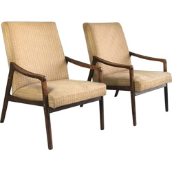 Pair of Czech Republic lounge chairs - 1970s