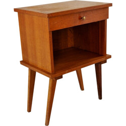 Bedside table with drawers - 1960s