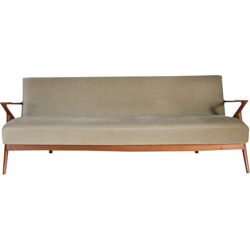Canapé Z daybed by Poul Jensen for Selig OPE - 1950s