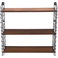Dutch Design Teak Shelving System by A.Dekker for Tomado Holland, 1960s