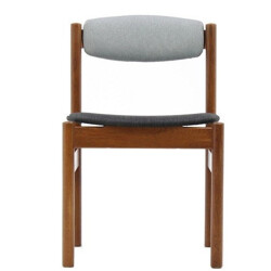 Set of four danish oak dining chairs - 1960s