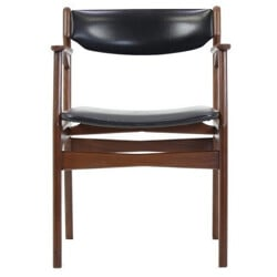 Danish teak chair with arms - 1960s