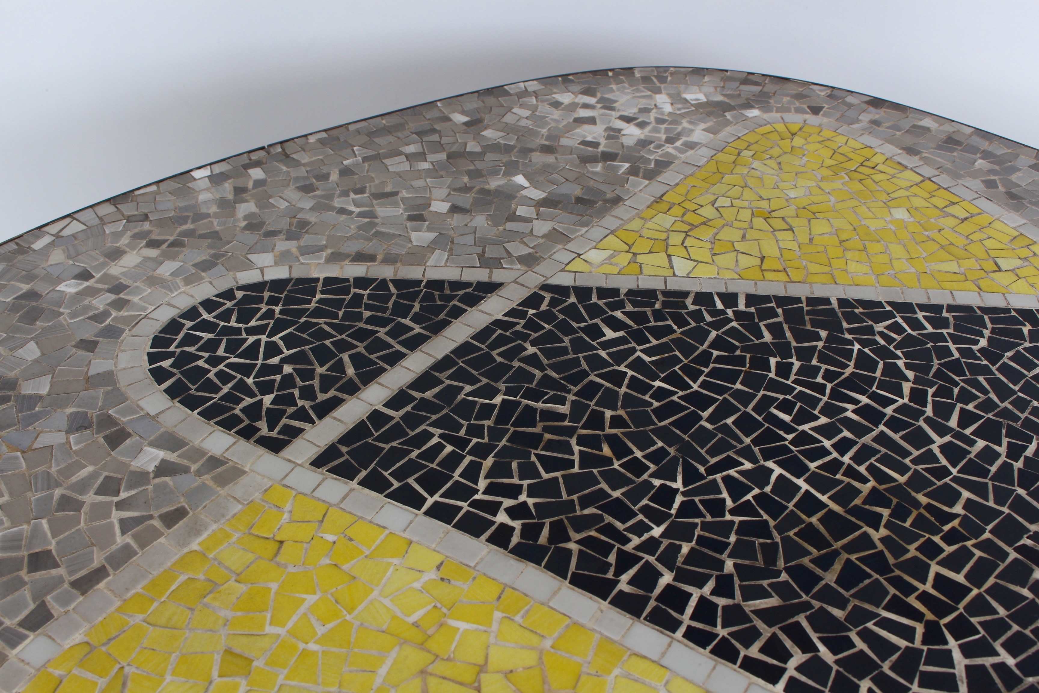 Berthold Müller Mosaic Coffee Table 1950s Design Market