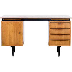 Cees Braakman teak writing desk for Pastoe - 1960s