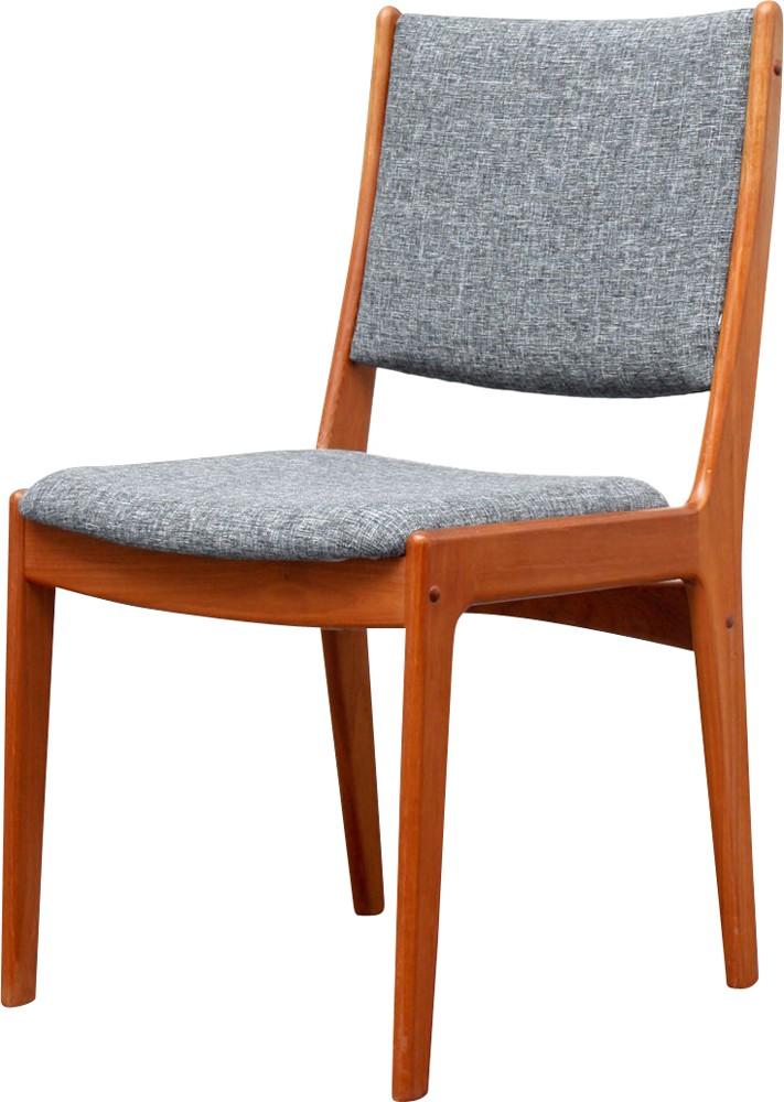 Set Of 4 Dining Chairs Teak Reupholstered 1960s Design Market