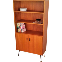Bookcase with compass legs - 1950s