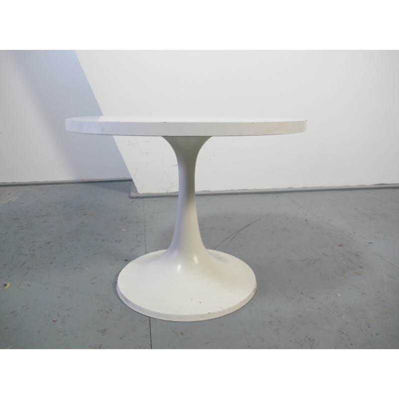 Outstanding Vintage White Tulip Table Produced By Pastoe 1970S Uwap Interior Chair Design Uwaporg