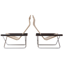 Easy chairs model NY by Takeshi Nii - 1950s