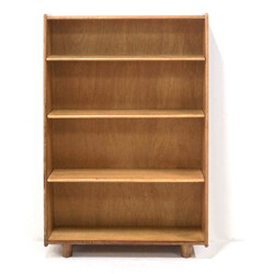 Oak Bookcase by Cees Braakman for UMS Pastoe - 1940s