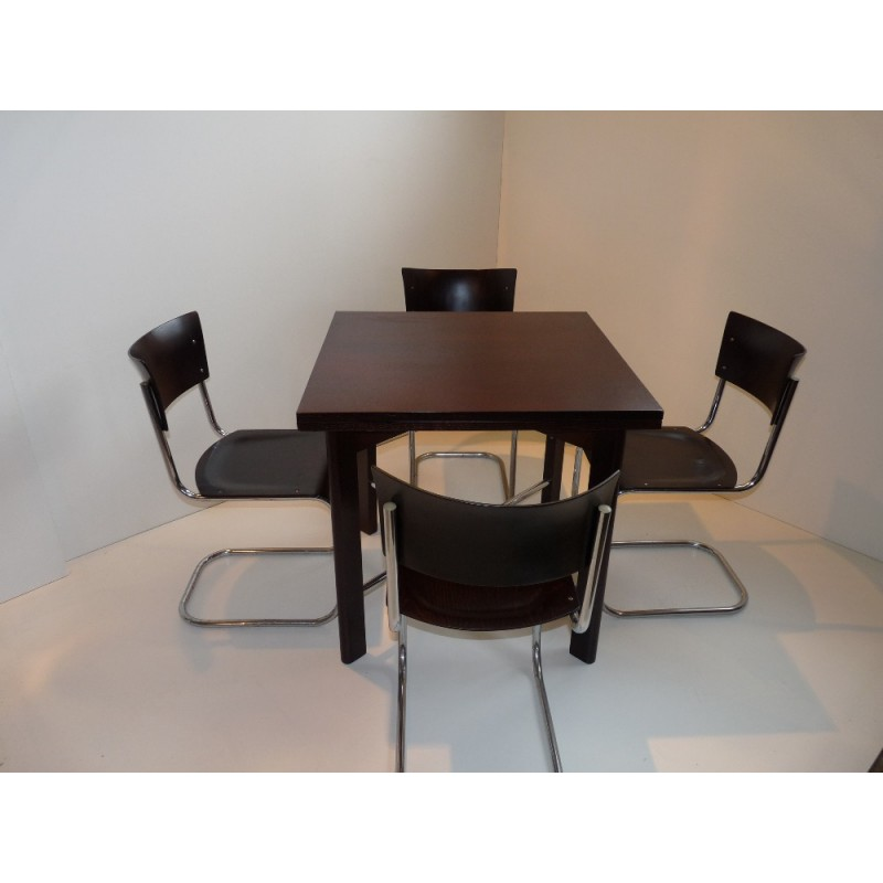 Dining Set In Bauhaus Style By J Halabal And Mart Stam 1930s