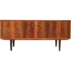 Sideboard with 2 doors in rosewood by Brouer - 1960s
