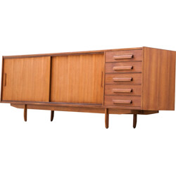 Teak Sideboard with Five Drawers - 1950s