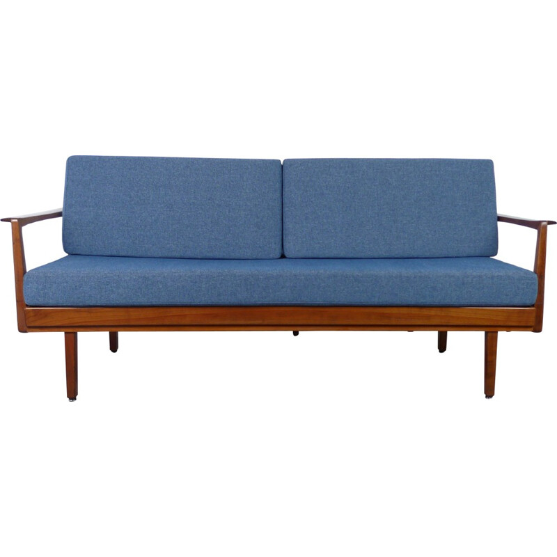 Walter Knoll daybed with walnut frame - 1950s