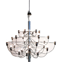 Chandelier model 209730 by Gino Sarfatti for Arteluce - 1950s