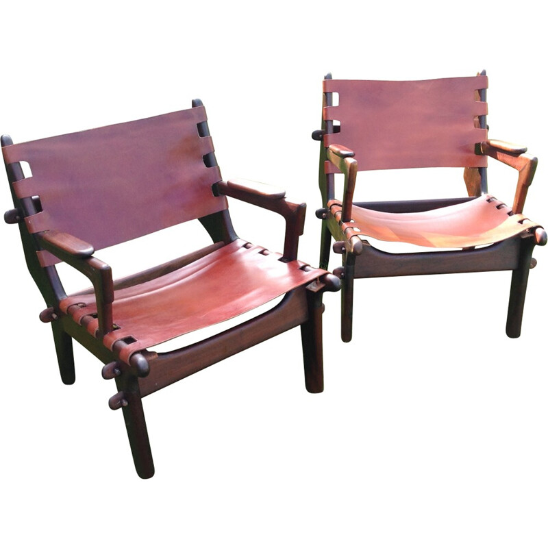 Pair of armchairs Angel PAZMINO - 1960s