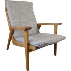 Mid-Century Dutch Lotus Easy Chair by Rob Parry for Gelderland - 1950s