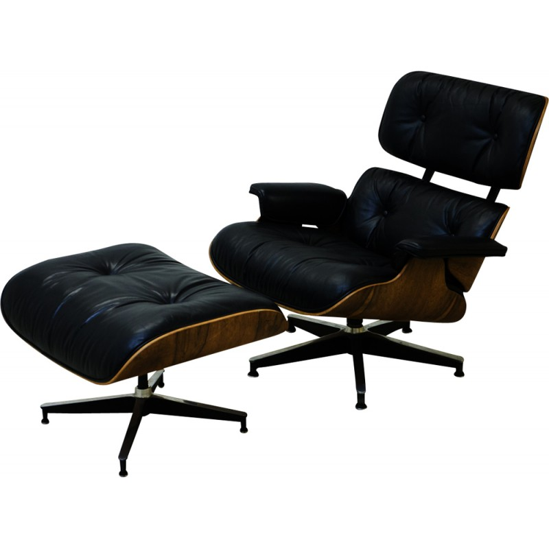 Eames Rosewood Lounge Chair For Herman Miller   1960s