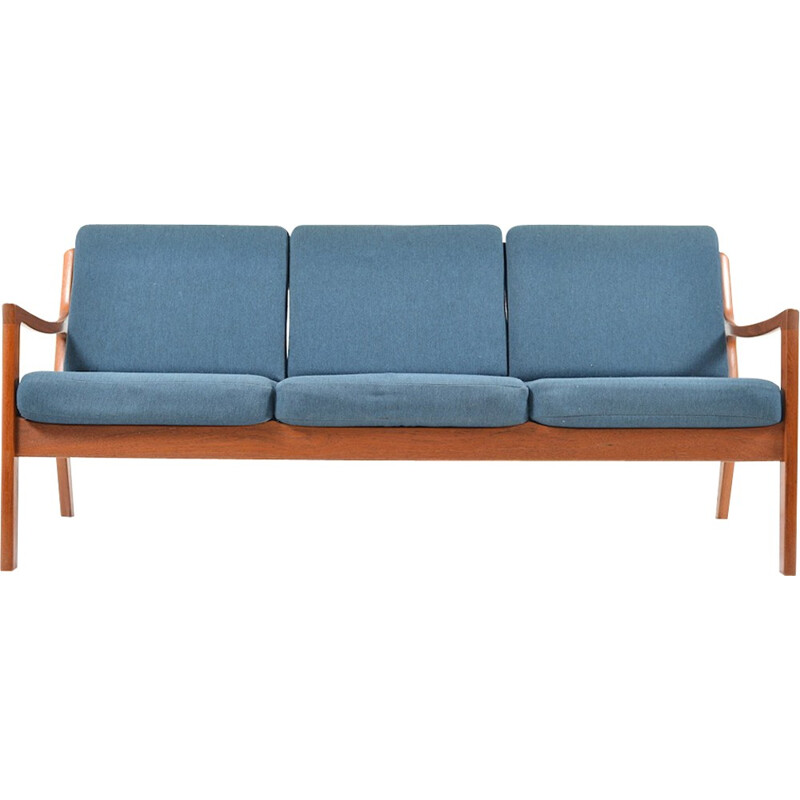 Senator 3-seater in teak by Ole Wanscher - 1960s