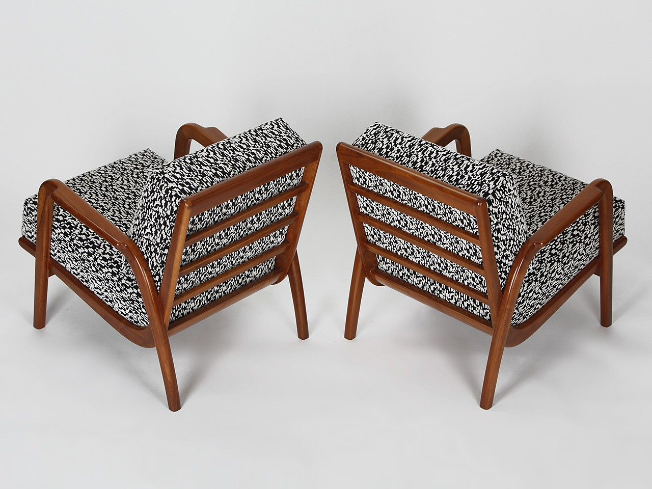 Pair Of Czech Mid Century Armchairs   1950s. Previous Next