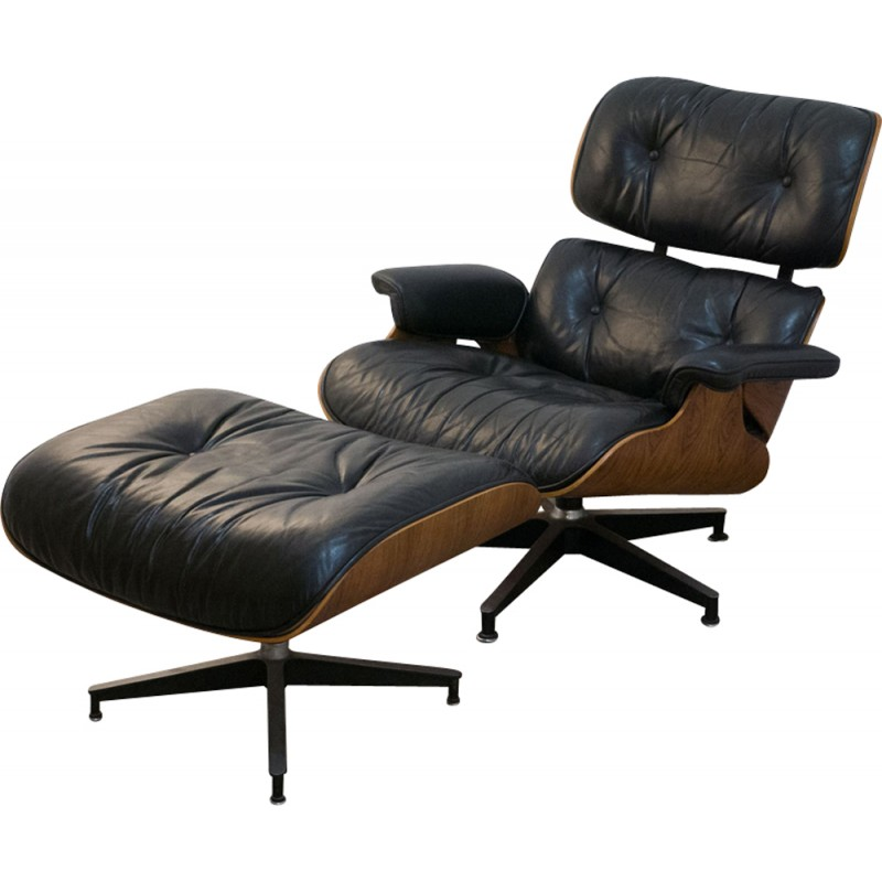 Lounge Chair by Eames for Herman Miller 1970s Design