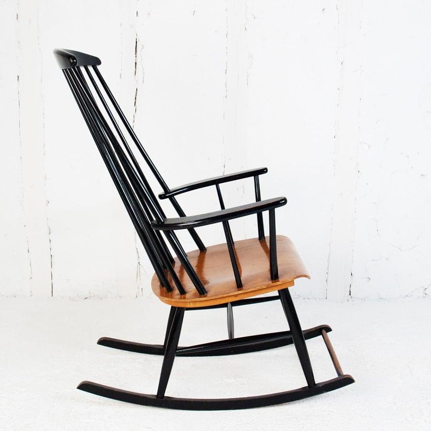 Rocking Chair Ilmari Tapiovaara 1950s Design Market