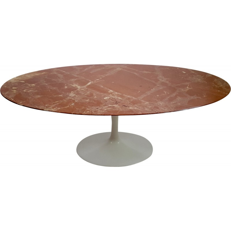 Table basse ovale saarinen knoll Table basse saarinen