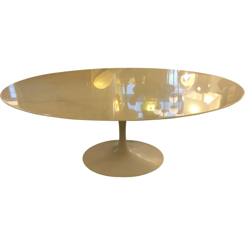 Table Ovale Marbre Florence Knoll   1990