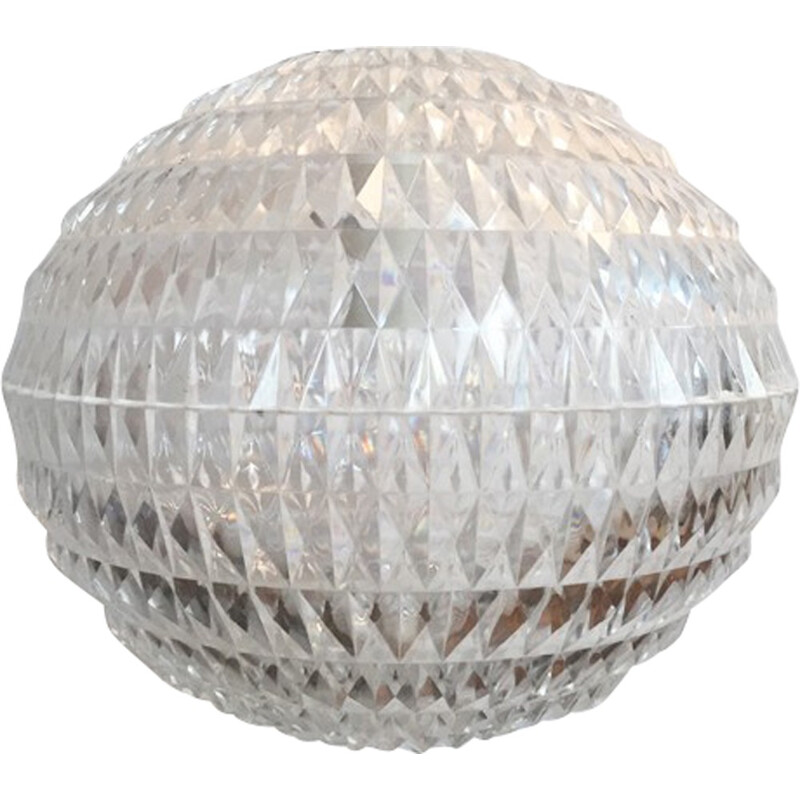 Hanging lamp model Diamant by Aloys Gangkofner for Erco - 1970s