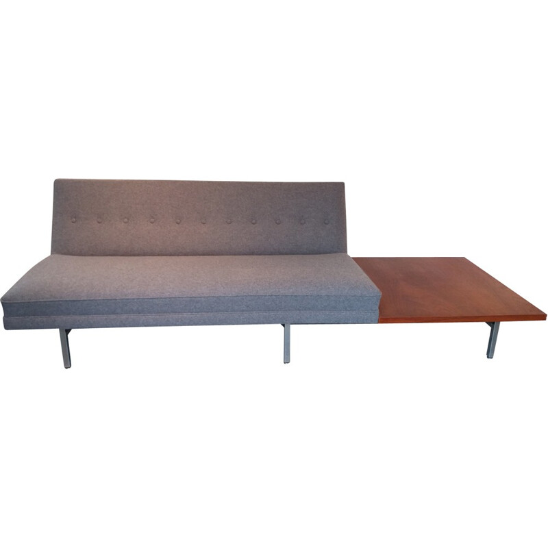 3 - seater sofa with side table by Georges Nelson produced by Herman Miller - 1960s