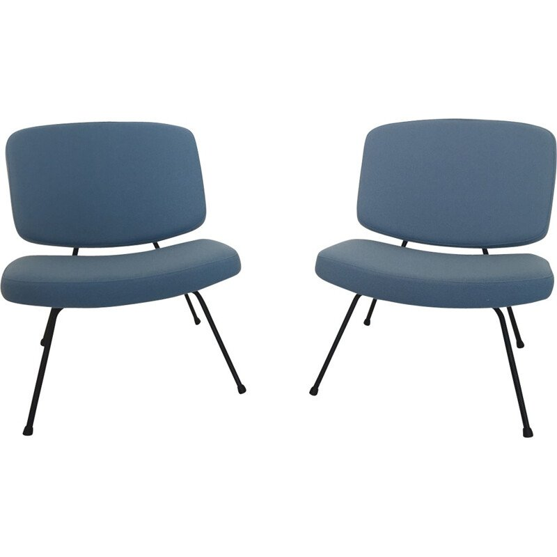 "Pair of ""CM190"" easy chairs by Pierre Paulin - 1950s"