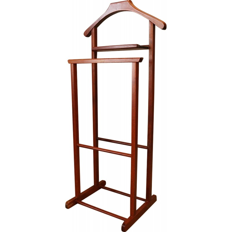 Wood clothes valet by Ico Parisi for Reguitti - 1960s - Design Market