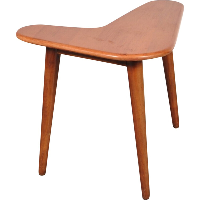 Boomerang shaped small side table - 1950s