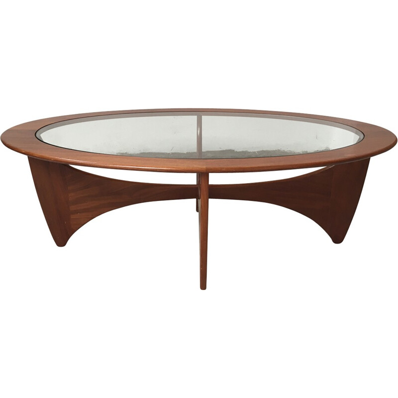 Astro oval coffee table by G Plan - 1960s