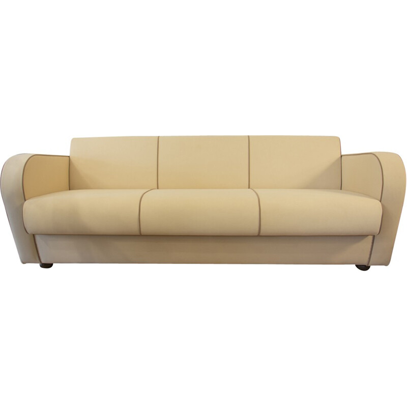 Functionalist Sofa H363 by Jindrich Halabala for UP Zavody - 1940s