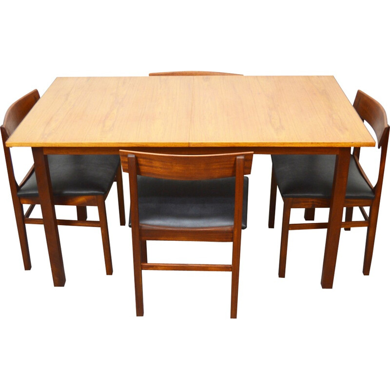 Mid Century Teak Dining Room Set By Gordon Russell
