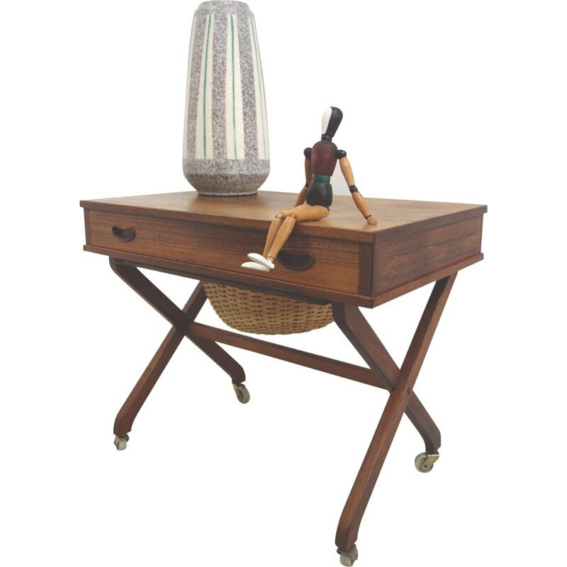 Danish sewing table in rosewood - 1960s