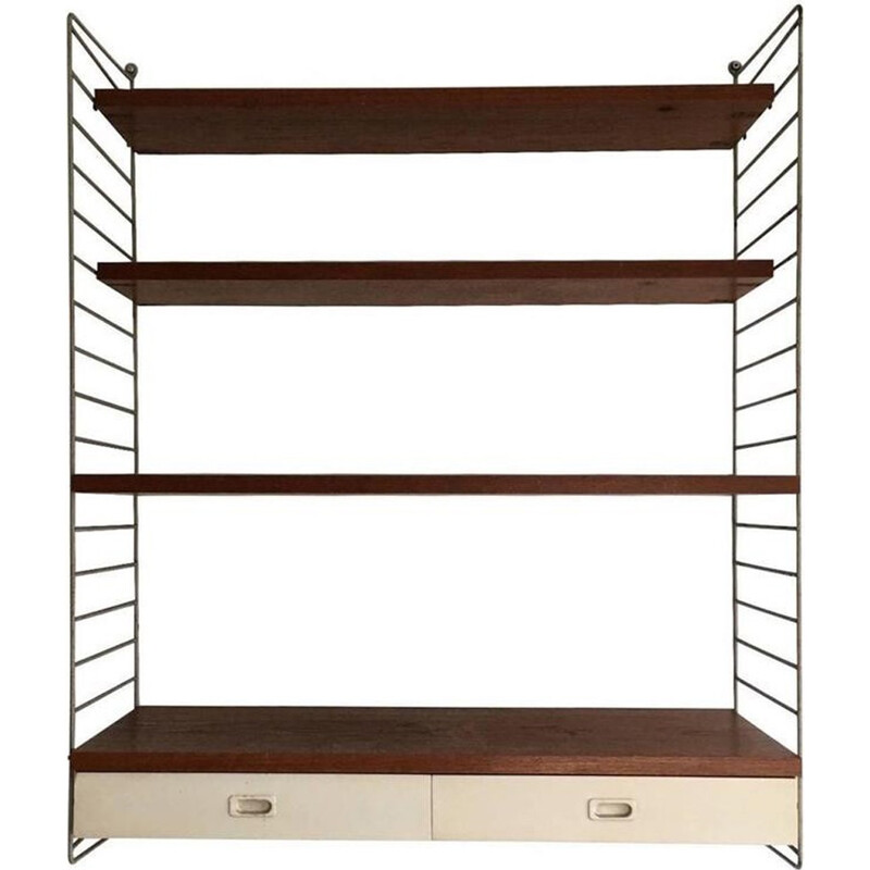 Small shelving system by Nils Nisse Strinning for String Furniture - 1960s