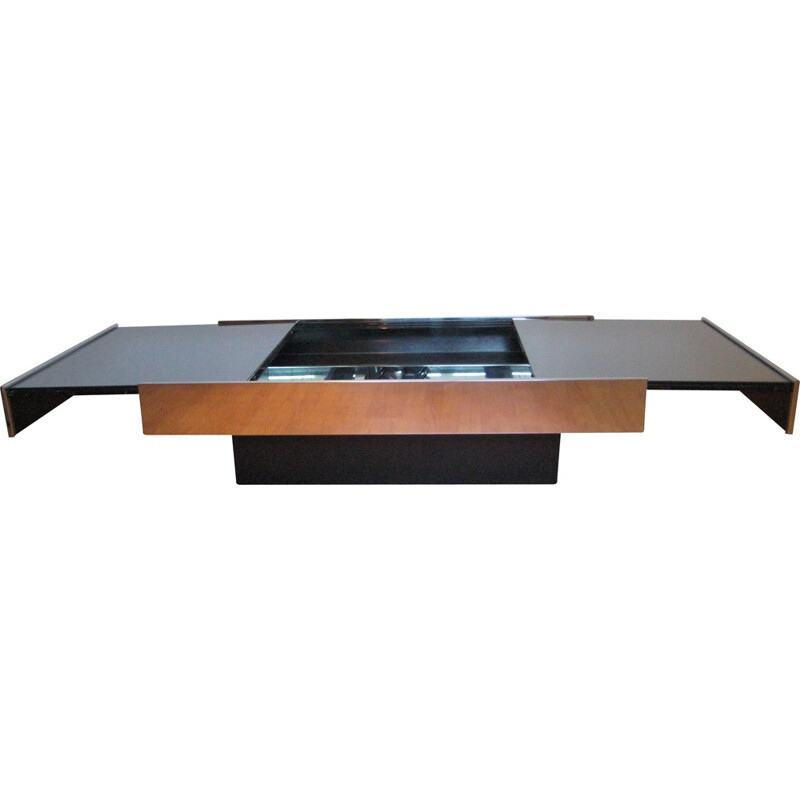 Vintage coffee table by Willy Rizzo for Cidue - 1970s