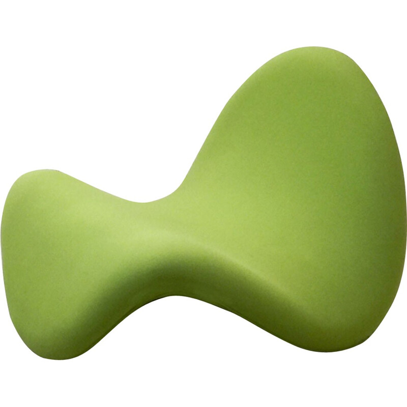 "Green Tongue ""F577"" armchair by Pierre PAULIN for Artifort - 1960s"