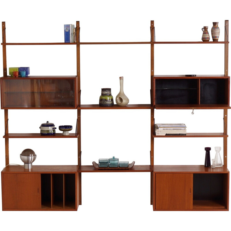 Royal Wall Unit by Poul Cadovius for Cado - 1960s