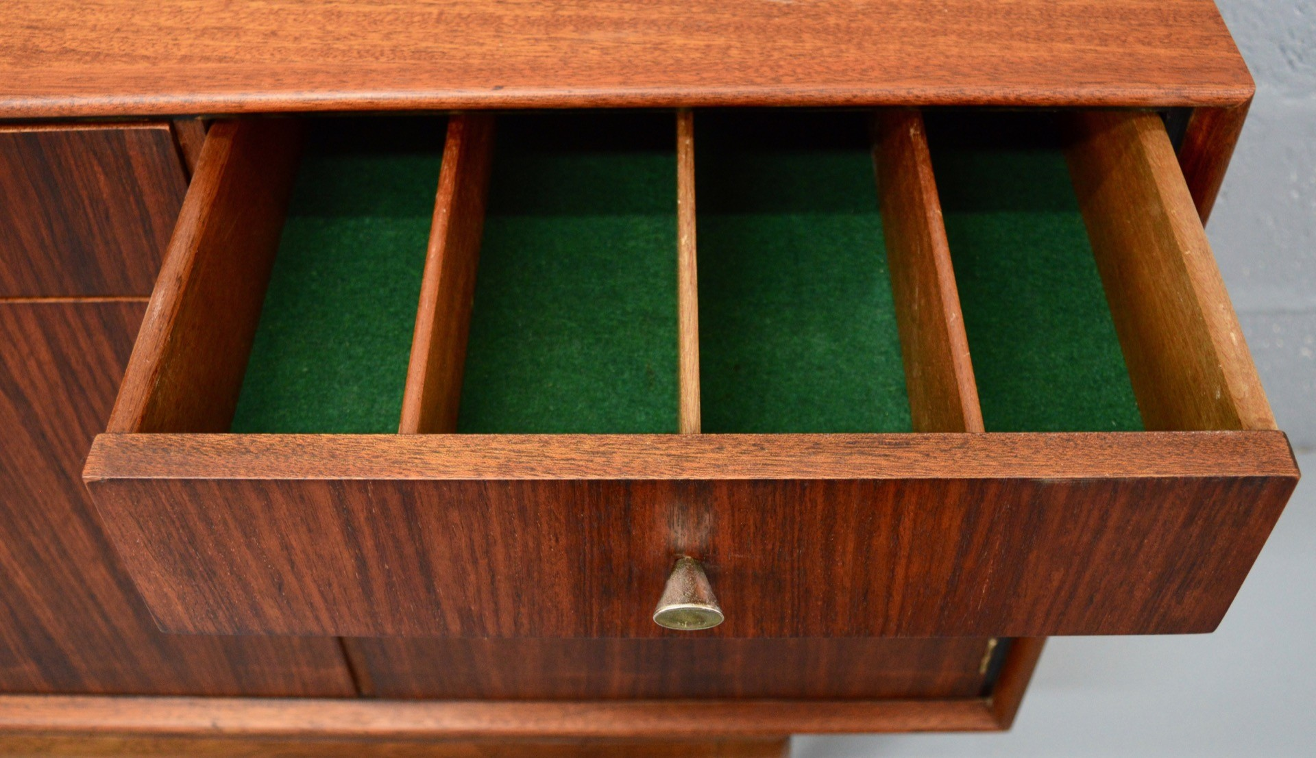 Mid-Century Rosewood and Teak lowboard by Greaves and ...