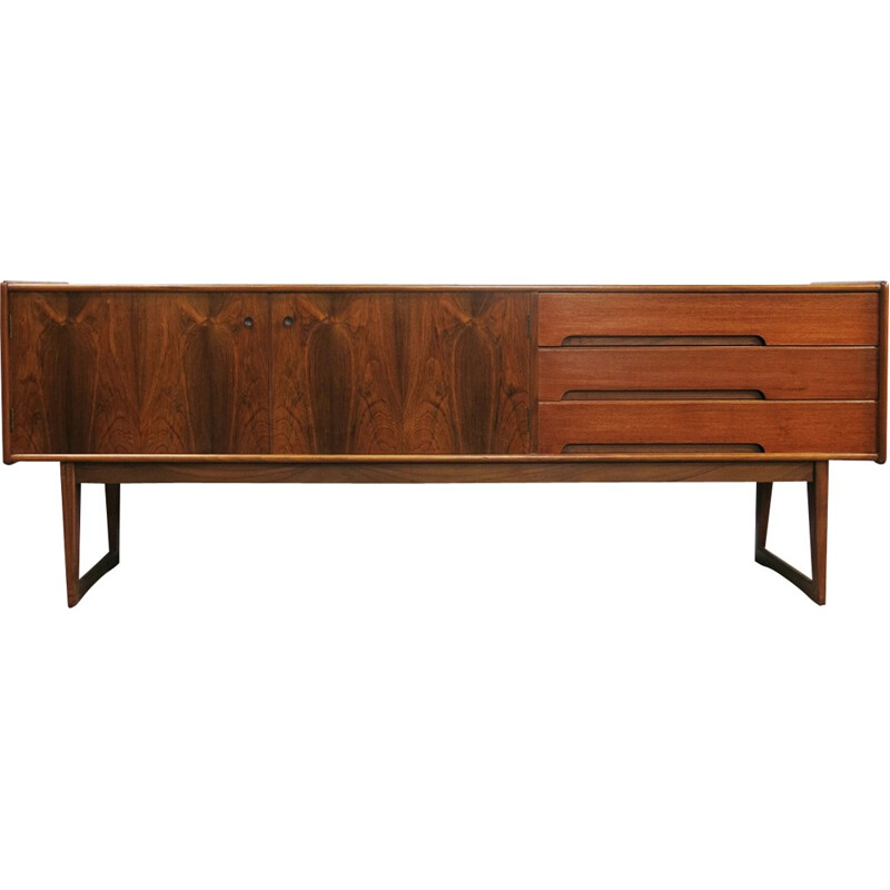 Mid century teak and rosewood sideboard by John Herbert for Younger - 1960s
