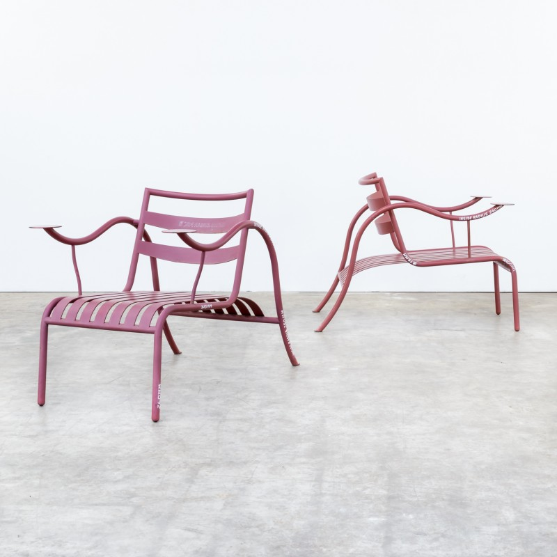 Pair Of Thinking Man Chairs By Jasper Morrison For Capellini   1980s